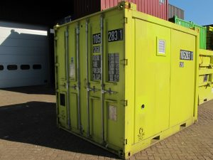 10ft closed offshore container
