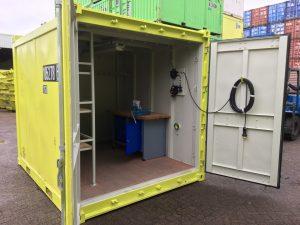 10ft Offshore Rigging Loft container met vaste stelling