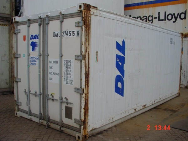 Container van KC Trading