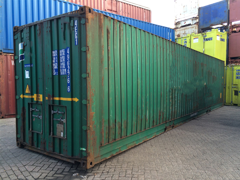 40ft Highcube Pallet Wide container