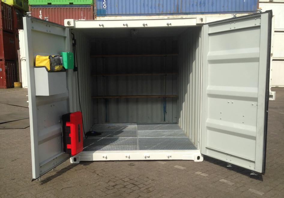 Container voor gevaarlijke stoffen