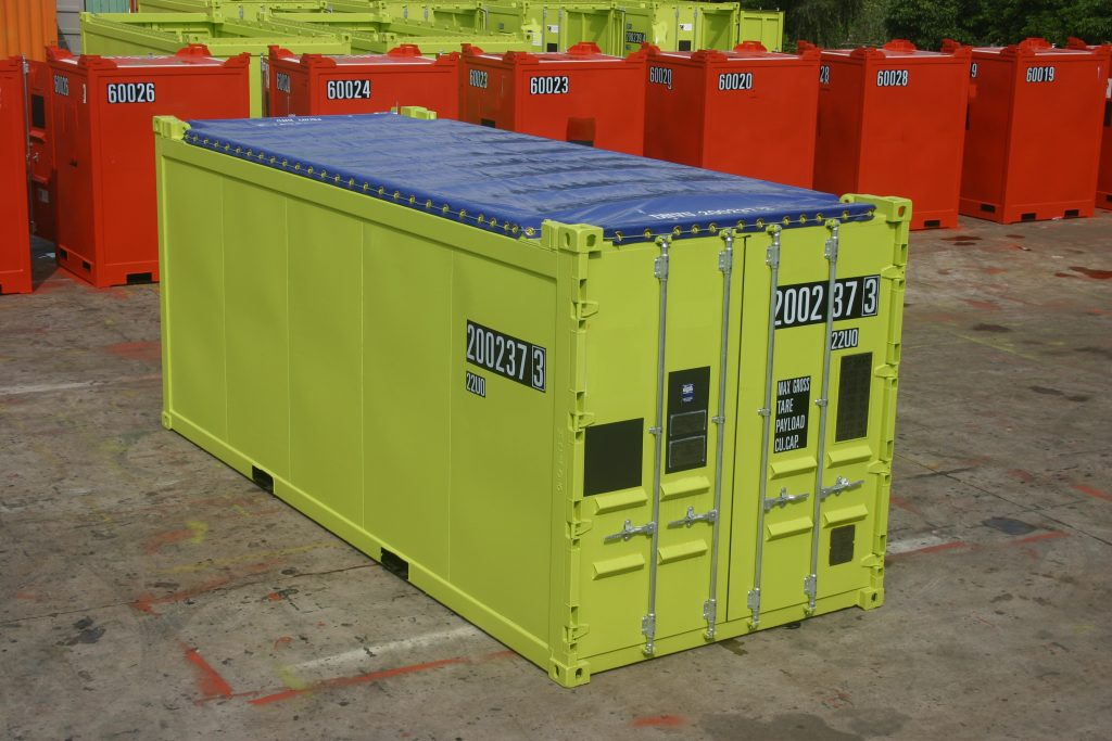 Open Top Offshore Container van KC Trading