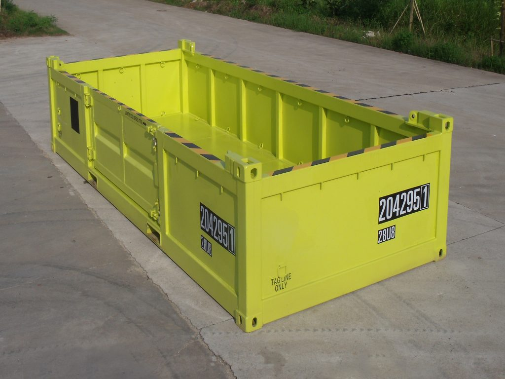 20ft half-height Offshore container van KC Trading
