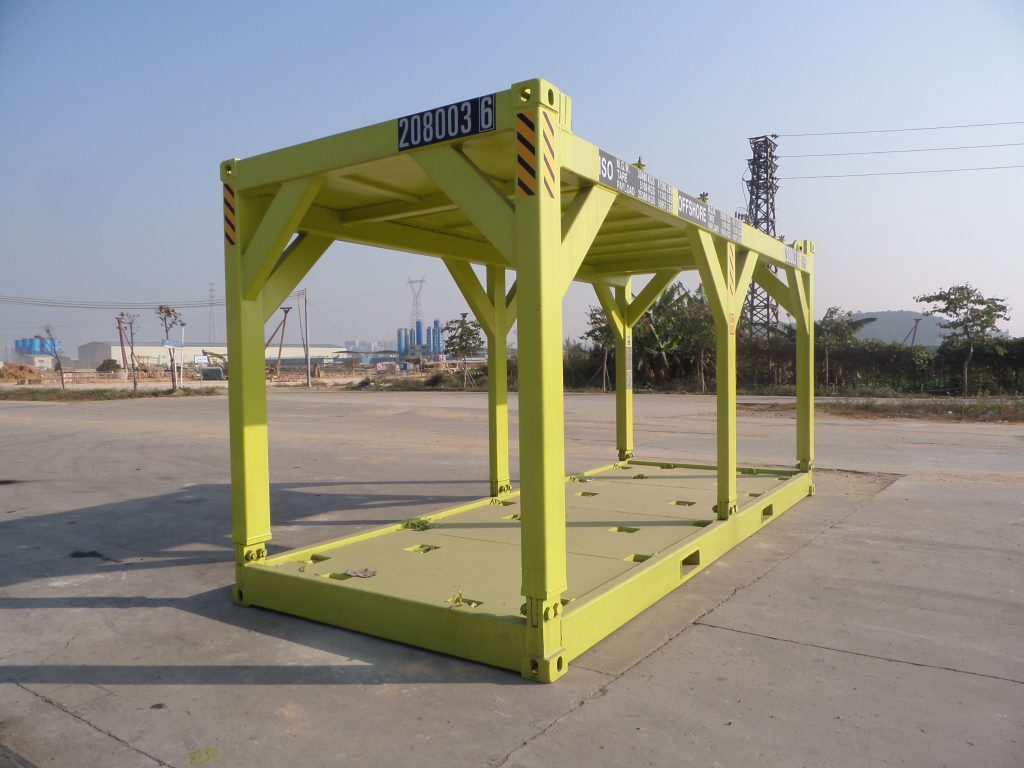 20ft offshore container frame 1