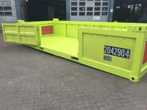 20ft Offshore Half Height Container met luiken