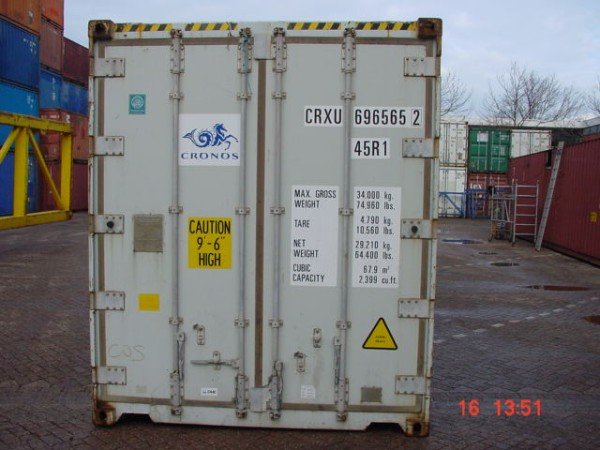 40ft Reefer Container - KC Trading B V