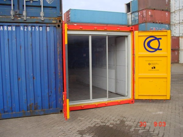40ft galleriecontainer