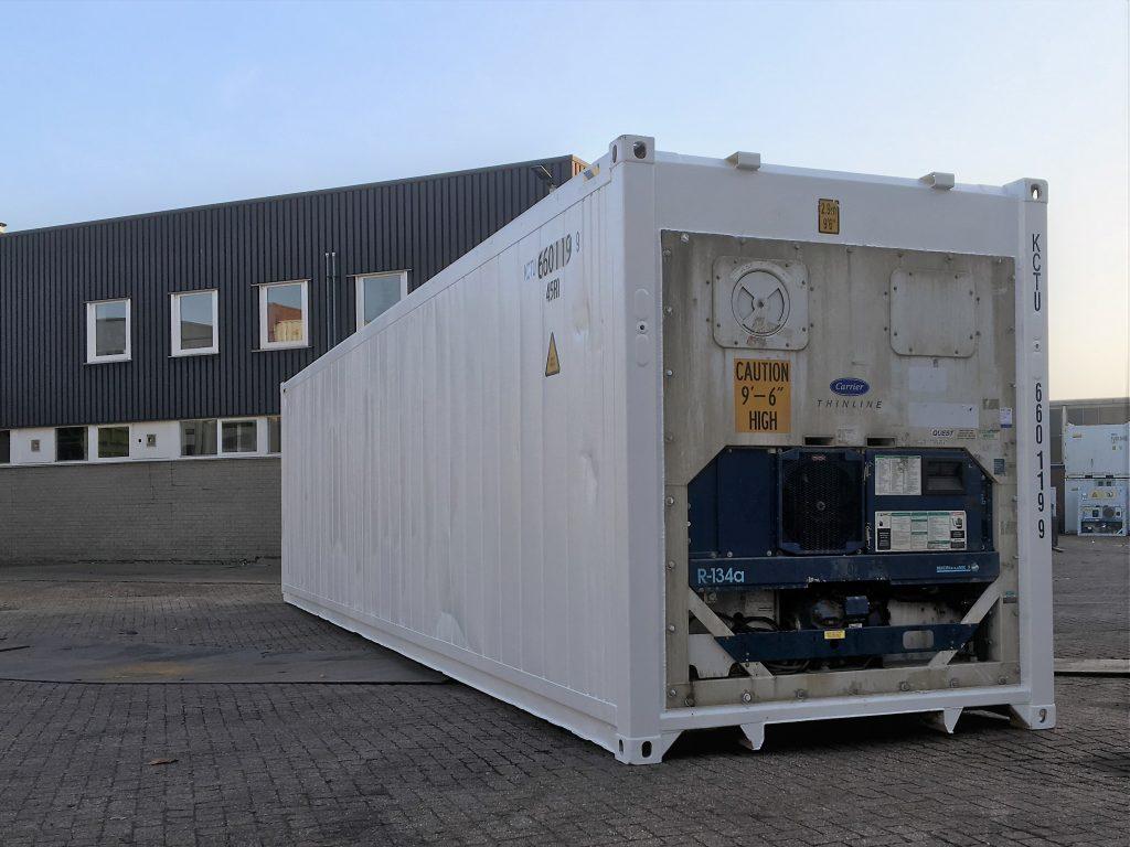 40ft Highcube Reefer Container - KC Trading B V