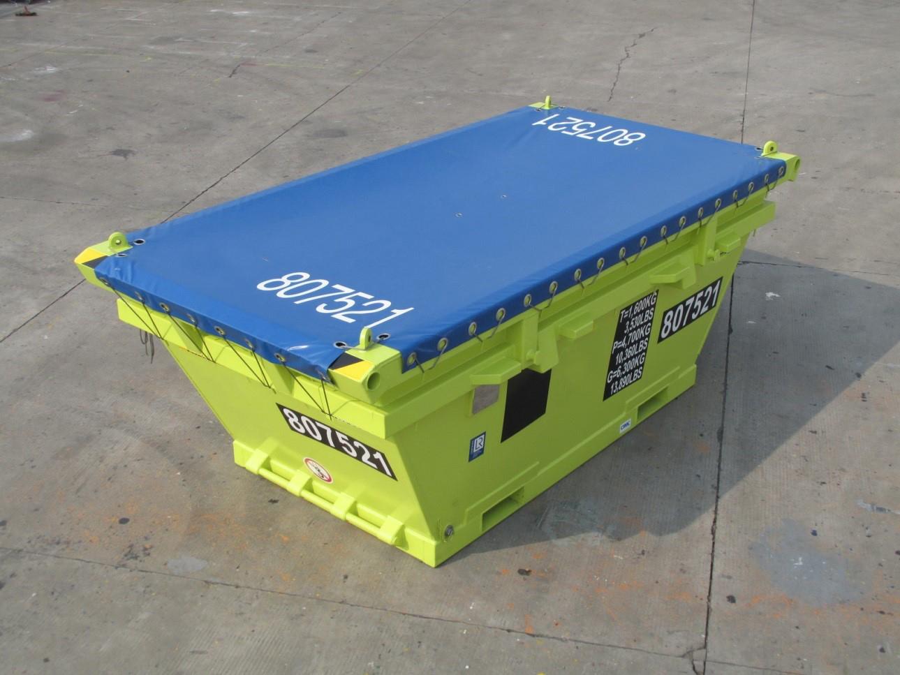 7m3 offshore waste skip kc trading b v. Black Bedroom Furniture Sets. Home Design Ideas