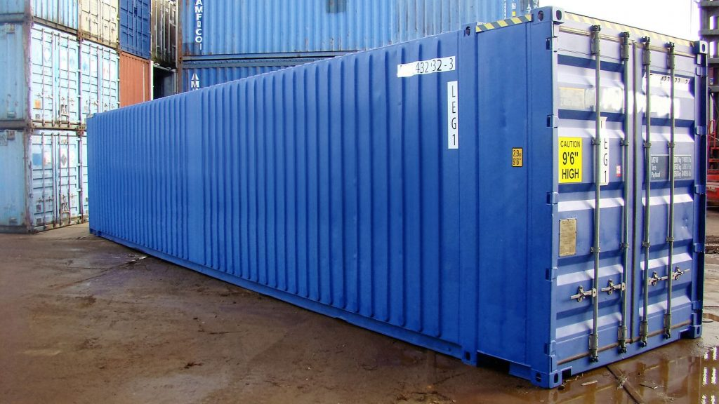 45ft Pallet Wide High Cube zeecontainer